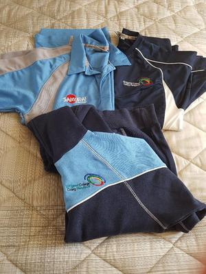 Various bridgend college sports cloths in perfect condition like new