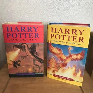 2 x Harry Potter books