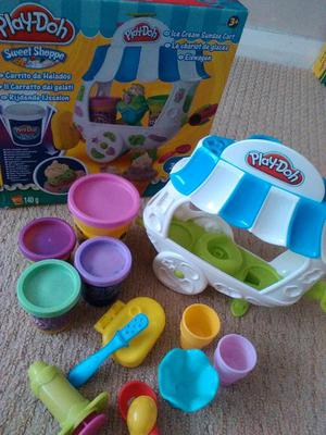 Play Doh ice cream sundae set