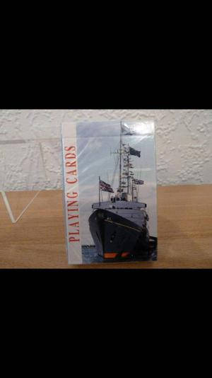 The royal yacht Britannia playing cards *New*