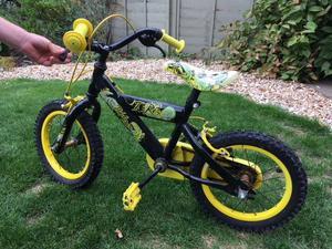 Boys dinosaur bike - learner bike