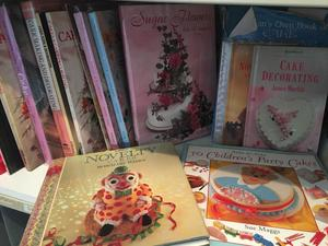 Cake decorating book collection