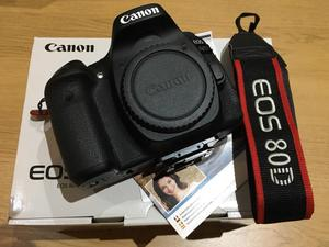 Canon 80d body, come with two original battery and remote control