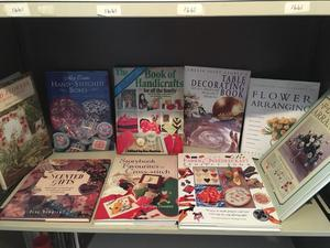 Flower and hobby craft books collection