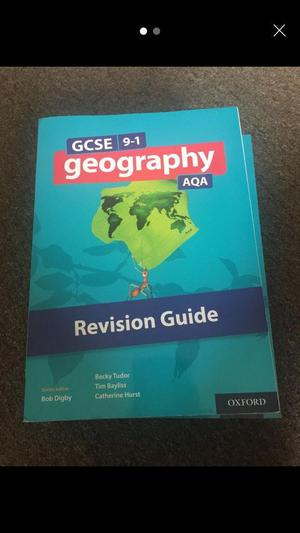 GCSE 9-1 geography revision guide