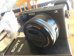 Sony A With Sony 16mm-50mm Lens. In Mint Condition