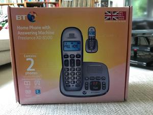 BT Home Phone x 2 and Answering Machine