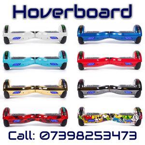 Brand New Sealed Hoverboard with Bluetooth speaker & LED lights - UK SAFE SWEGWAY