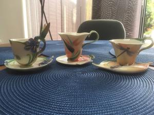 Franz cups and saucers