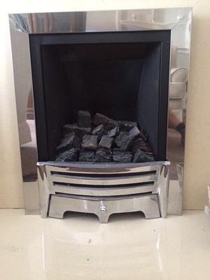 Gas Fire - in nearly new condition