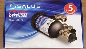 New boxed salus magnetic boiler filter 22mm MD22A