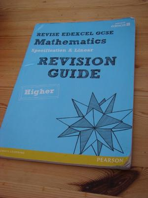 Revision Guide Mathematics.Revise EDEXCEL GCSE, used but loads of wear left in it, very useful guide