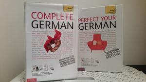 Set of two German language course materials - Complete German and Perfect your German