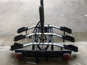 THULE 3 bike rack for tow-bar with key lock