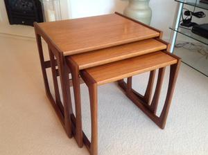 G Plan Teak Nest of 3 Tables