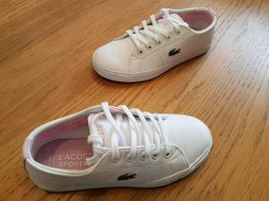 Girls New Lacoste trainers for sale