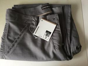 Ladies craghoppers grey walking trousers
