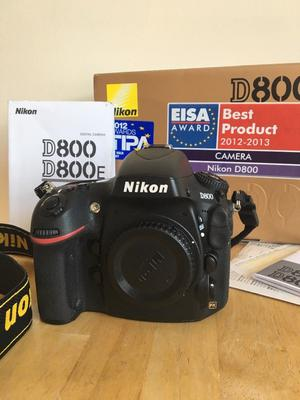 Nikon D DMP Digital SLR Camera Body ONLY plus extras