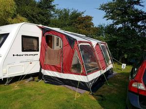 Outdoor Revolution Compactalite Pro 325 caravan awning