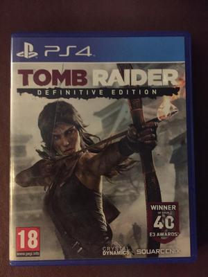 PlayStation 4 Tomb Raider. Definitive Edition