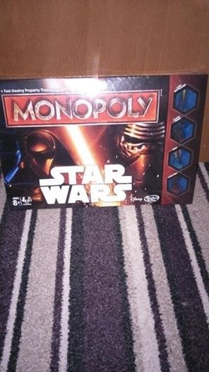 STAR WARS MONOPOLY BRAND NEW AND SEALED
