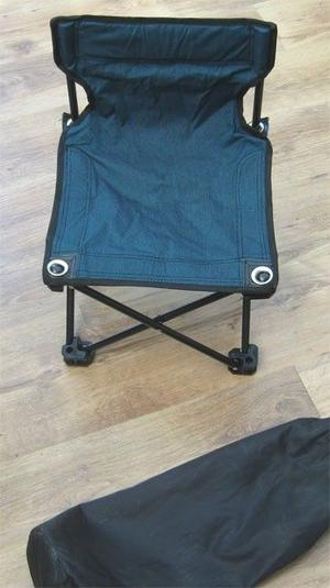 Small Fold-up Picnic Camping Chair Stool in Bag £2 in good condition