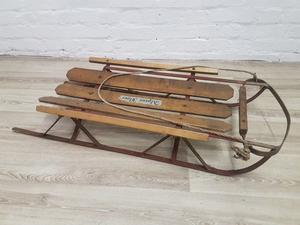 Vintage Alpine Flyer Sledge (DELIVERY AVAILABLE)