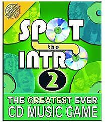New / sealed Spot the Intro 2 - The greatest ever CD music game
