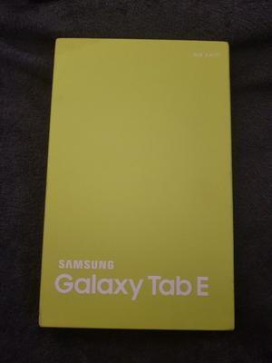 Brand new, fully sealed Samsung Galaxy Tab E Metallic Black