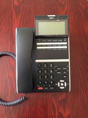 NEC DT800 Black Digital Office Phone