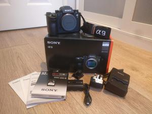 Sony A9 Camera - Only 131 Shutter Count - Original Box & Accessories