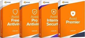 Avast! Pro Antivirus,Internet Security & Premier . Activation till !!!!