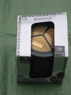 Brand New Whittard of Chelsea One Cup Permanent Coffee Filter for £4.00