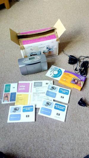 Hp photosmart 130 photo printer
