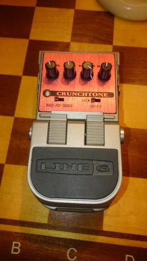 Line 6 Crunchtone overdrive guitar pedal