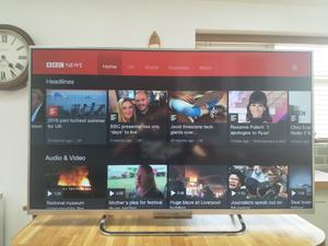 Sony Bravia LCD Smart TV - 42 inch, immaculate condition.