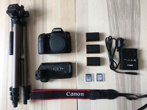 Canon 80D DSLR, Battery Grip, x3 LPE6 Batteries, Battery Charger, Memory Cards, Stills Tripod