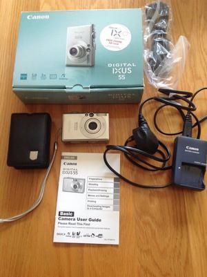 Canon IXUS 55 digital camera