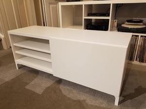 Ikea Besta TV stand with door