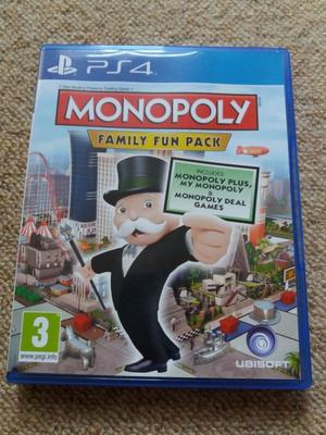 Monopoly: Family Fun Pack Ps4 game