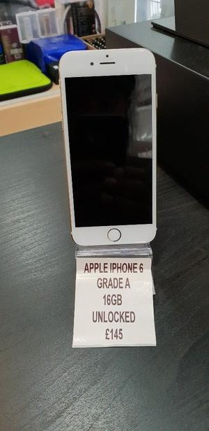 APPLE IPHONE 6 GRADE A UNLOCKED 16GB VARIOUS COLOURS SPECIAL OFFER