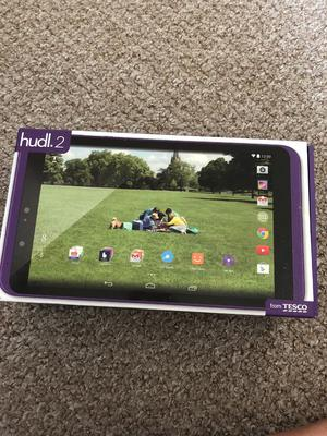 "Tesco Hudl 2 Android Tablet-Wifi 16GB 8.3"" 5MP 2GB RAM"
