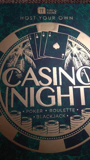 3 in 1 Casino Poker, roulette, blackjack not used