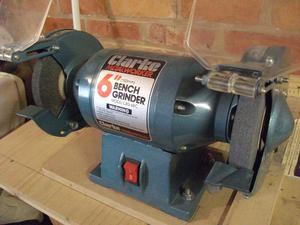 Nu Tool Ch Bench Grinder Twin 6 Inch Posot Class