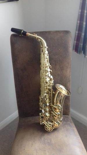 "Excellent Gear 4 Music Alto Saxophone ""As New Condition"""