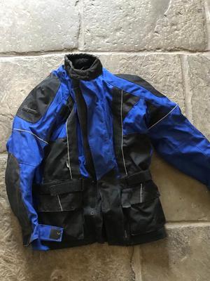 Frank Thomas Motor Bike Jacket & Gloves