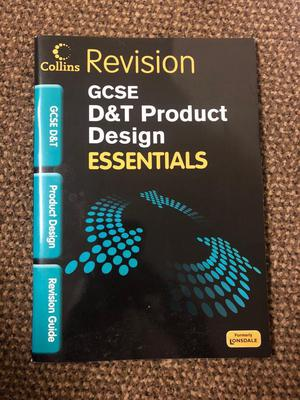 GCSE D&T product design revision guide
