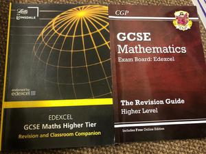 GCSE maths Edexcel revision guide