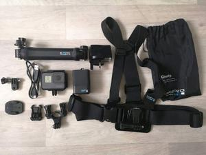 GoPro Hero5 Camera with all necessary accessories for sale. (Used only for one holiday)