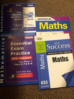 KS3 Mathematics books and revision guide